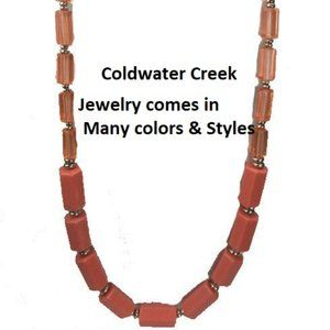 "Coldwater Creek Necklace 32"" NWT"